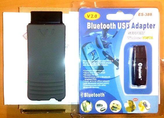 Автосканер VAS5054A+ODIS 2.2.4 Bluetooth