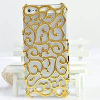 ПЛЕНКА + стильный  чехол узор орнамент iPhone 4 4s