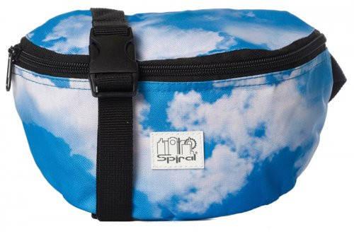 Замечательная сумка на пояс 2 л. Harvard Spiral 4009 бело-голубой