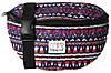 Модная сумка на пояс с этническим орнаментом 2 л. Harvard Spiral 4006 микс