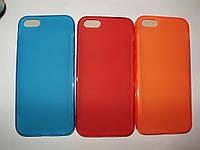 Стильный силиконовый TPU чехол iPhone 5 5S SE