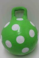 Мяч резиновый SB1609  цветов, с ушками, ассорти, 45см 380г