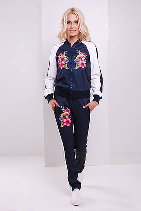 брюки GLEM Китайская роза брюки Юниор 3ДН, фото 2