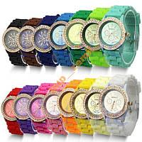 Часы женские Geneva Luxury Crystal стразы