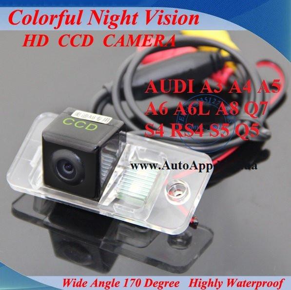 Камера заднего вида Sony (CCD) для Audi A3 A4 A5 A6 A6L A8 Q7 S4 RS4 S5 Q5