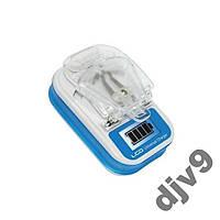 Зарядное устройство Жабка LCD адаптер c USB