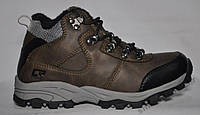 Ботинки - кроссовки на меху из натуральной кожи. Размеры 33, 35, 36, 37. Crosby 458220.