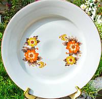 БОЛЬШОЕ сервировочное блюдо,тарелка! BULGARIA 32см
