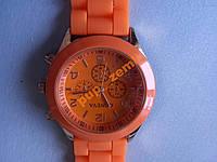 Часы женские Geneva оранжевые уценка