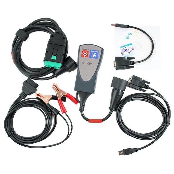Сканер Lexia 3 PP2000 v7.82 Citroen, Peugeot RUS