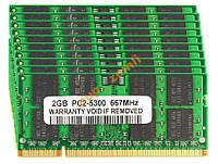 DDR2 2Gb 5300 667Мгц 2G SODIMM для ноутбука