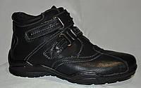 Распродажа. Ботинки - кроссовки мужские из PU-кожи. Размеры 36, 37. Forra ZT10182.