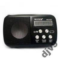 Колонка-радиоприемник WSTER WS-822