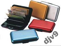 Кошелек визитница Aluma Wallet. Бумажник для кредитных карт