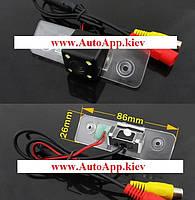 Камера заднего вида Sony  (CCD) Skoda Octavia, Fabia, SuperB  2008-2012, фото 1