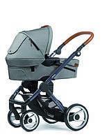 Mutsy универсальная коляска 2в1 EVO Urban Nomad Light Grey / Dark Grey Cognac