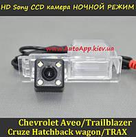 Камера заднего вида для Chevrolet Aveo 2012-2016/Cruze Hatchback 2012-2015 (SONY CCD2)