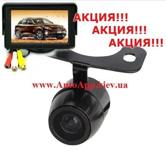 """Видео парковка, Монитор 4.3"""" +Камера CCD"""