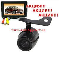 """Видео парковка, Монитор 4.3"""" +Камера CCD, фото 1"""