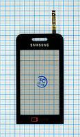 Тачскрин сенсорное стекло для Samsung S5233 Star TV black