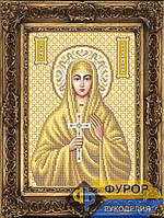 Схема иконы для вышивки бисером - Валентина Святая Мученица, Арт. ИБ4-057-2