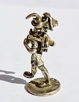 Коллекционная скульптура,Буратино! Серебро!