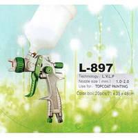 Краскопульт пневматический L-897 LVLP(1.3;1,6). Цена!