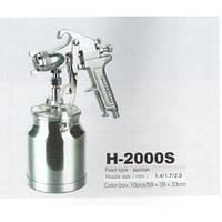 Краскопульт пневматический H-2000S HP(1.7) лак