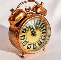 Оригинальный будильник,часы! Медь! Hungary!