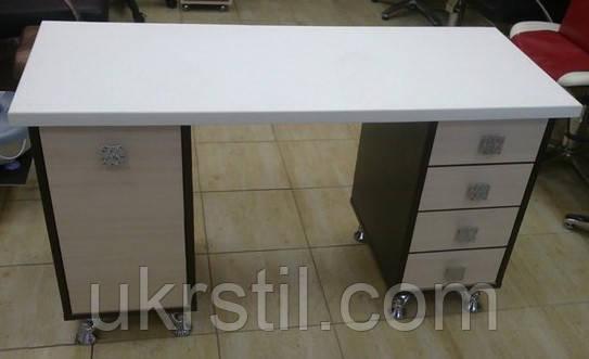 Маникюрный стол «Classic», столешница искусственный камень - УкрСтиль в Одессе