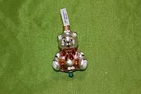 Новогодняя игрушка А 51 Медведь с бантом, фото 1