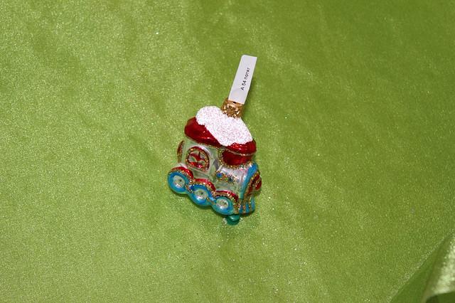 Новогодняя игрушка А 54 Поезд