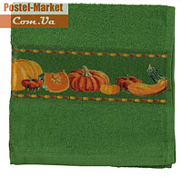 Полотенце кухонное Руно 705 зеленое