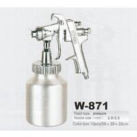 Краскопульт пневматический W-871 HP (2.5) AUARITA