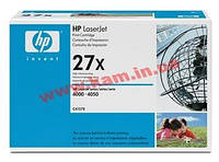 Картридж HP Toner Cartridge LARGE for LJ4000/ 4050, 10000pages (C4127X)