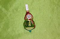 Новогодняя игрушка А 80 Снеговик, фото 1