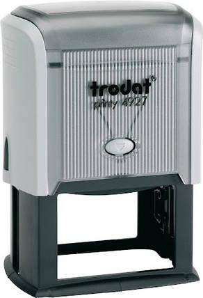 Штамп самонаборный 8 строчный TRODAT 4927, фото 2