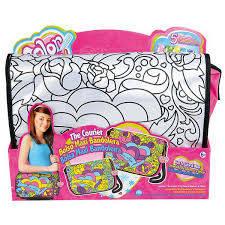 Сумки раскраски для девочек
