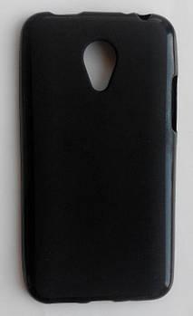 Силиконовый чехол черный матовый Meizu M1 mini