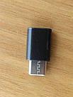 Переходник Xiaomi черный USB - USB type C, фото 4
