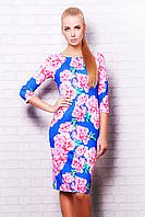 Платье Розовые цветы Лоя