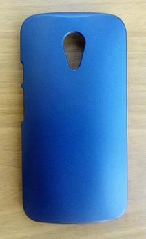Бампер синий Motorola Moto G 2014 2nd Gen G2 G+1