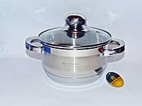 Каструля з нержавіючої сталі 1,5 л. Edenberg eb3003, фото 1