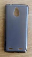Силиконовый чехол серый ZTE Nubia Z5 Mini, фото 1