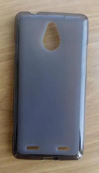 Силиконовый чехол серый ZTE Nubia Z5 Mini