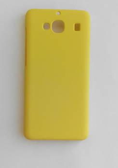 Бампер желтый матовый Xiaomi Redmi 2