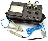 Измерение сопротивления токопроводящих частей элементов электрооборудования