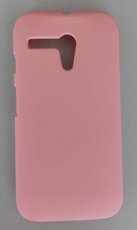 Бампер розовый Motorola Moto G xt1032