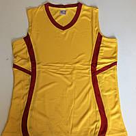 Форма баскетбольная р-р S (44-46) желтая/красная