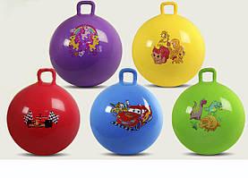 Мяч для фитнеса ND003 гири 5 видов, 5цветов 55см 580г